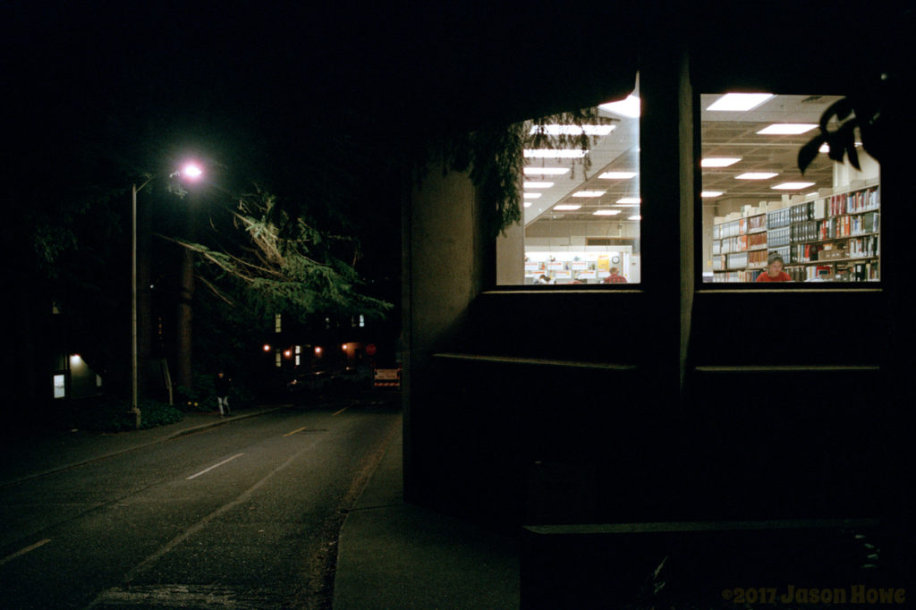 Library by Night